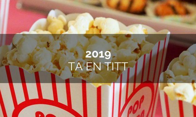 Kommande filmer 2019